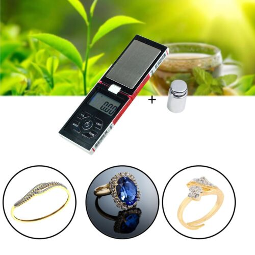 Calibration Weight Portable Digital Pocket Scale Jewellery Weighing 0.01g-200g
