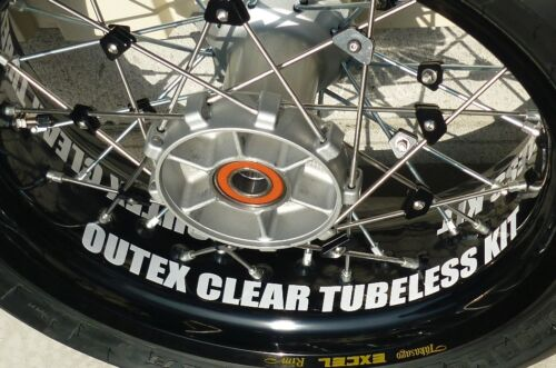 DR650SE Spoke Wheel Tubeless Kit for Front Rim 21×1.85 OUTEX F-21DR