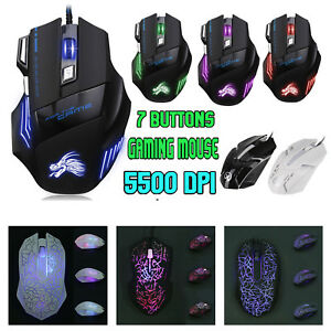 5500DPI-LED-RGB-Optical-USB-Wired-Gaming-Mouse-7-Buttons-Gamer-Laptop-PC-Mice