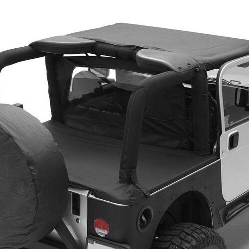 For Jeep Wrangler 97-06 Smittybilt Outback Extended Diamond Black Bikini Top