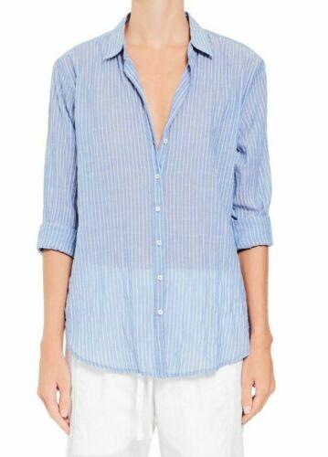 NWT Xirena Beau Shirt in Weathervane Blue Skies Stripe