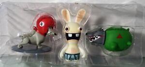 Diligent Rabbids Dogs Paquet / 3 -pack Jeu De Chiffres (2 Chiens + Figurine) Ubisoft