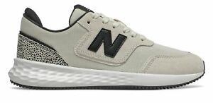 New Balance Women's X-70 Shoes Off White with Black