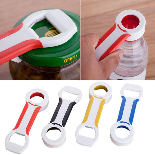 4 in 1 Handy Can Bottle Caps Canning Lid Pop Beer Tab Opener Grip Kitchen Dwgp