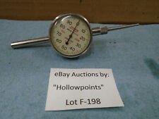Lufkin No 299 Dual Point Dial Indicator 001 Res Back Plunger With Tip F198