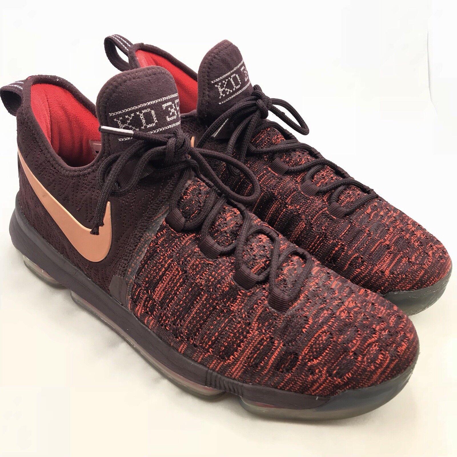 Nike Zoom KD 9 IX Xmas Sauce Bronze Size 12. 852409-696 Jordan Kobe