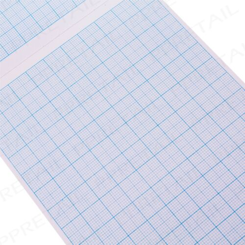 5 x A4 MATH PAD GRAPH PAPER 2//10//20mm Square Grid 100 Page Student//Kids Workbook