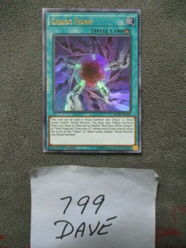 1st Edition Chaos Form DUPO-EN049 Near Mint Ultra Rare