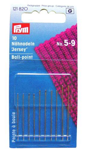 N° 5-9 assortiti punta a pallina cruna oro Aghi per cucire Prym 121820