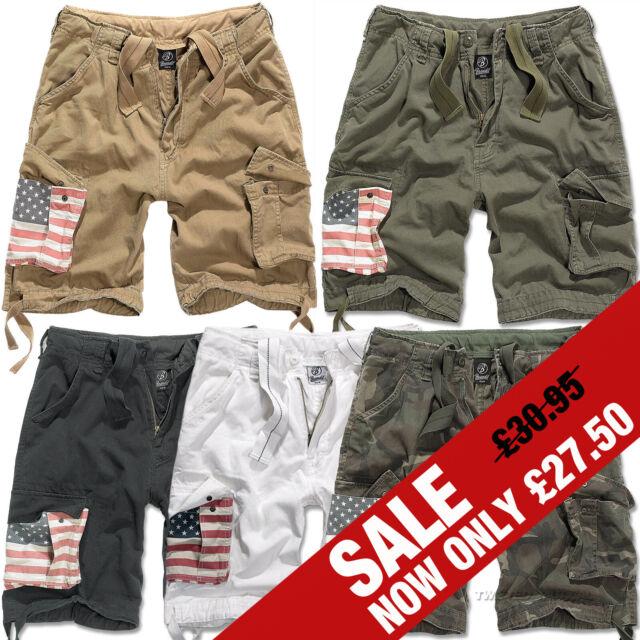 9a88ec0172a Brandit Urban Legend Stars   Stripes USA Flag Military Army Combat Cargo  Shorts for sale online