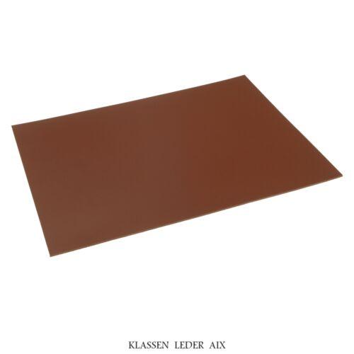 Vaca marrón 2,5 mm de grosor de cuero a4 trozo cuero genuino piel Leather 170