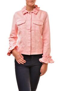 Jacket Tamaño Bcf811 J M Rrp Pink Slim Ruffle Casual Brand Mujer 484 Sr4005t142 Z7wxxq8FCY