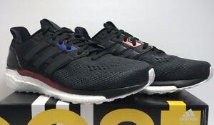 f1e062bd1080c Adidas Mens Size 9 Boost Supernova AKTIV Black White Running Shoes ...
