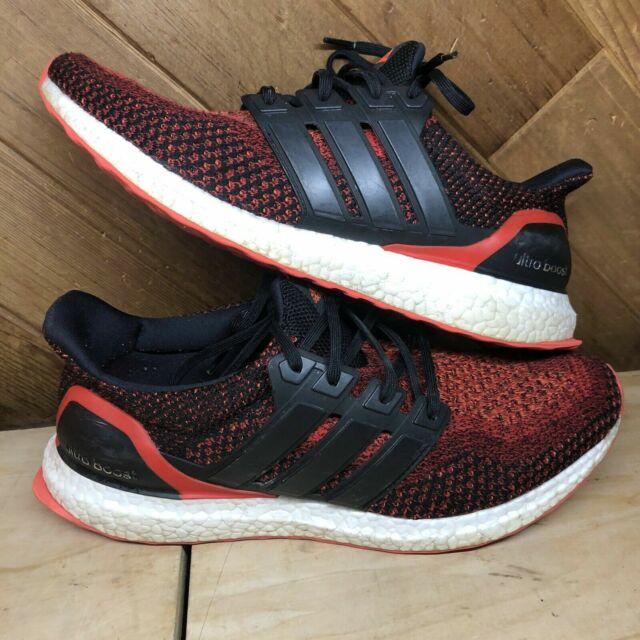 Size 10.5 - adidas UltraBoost 2.0 Solar Red 2016