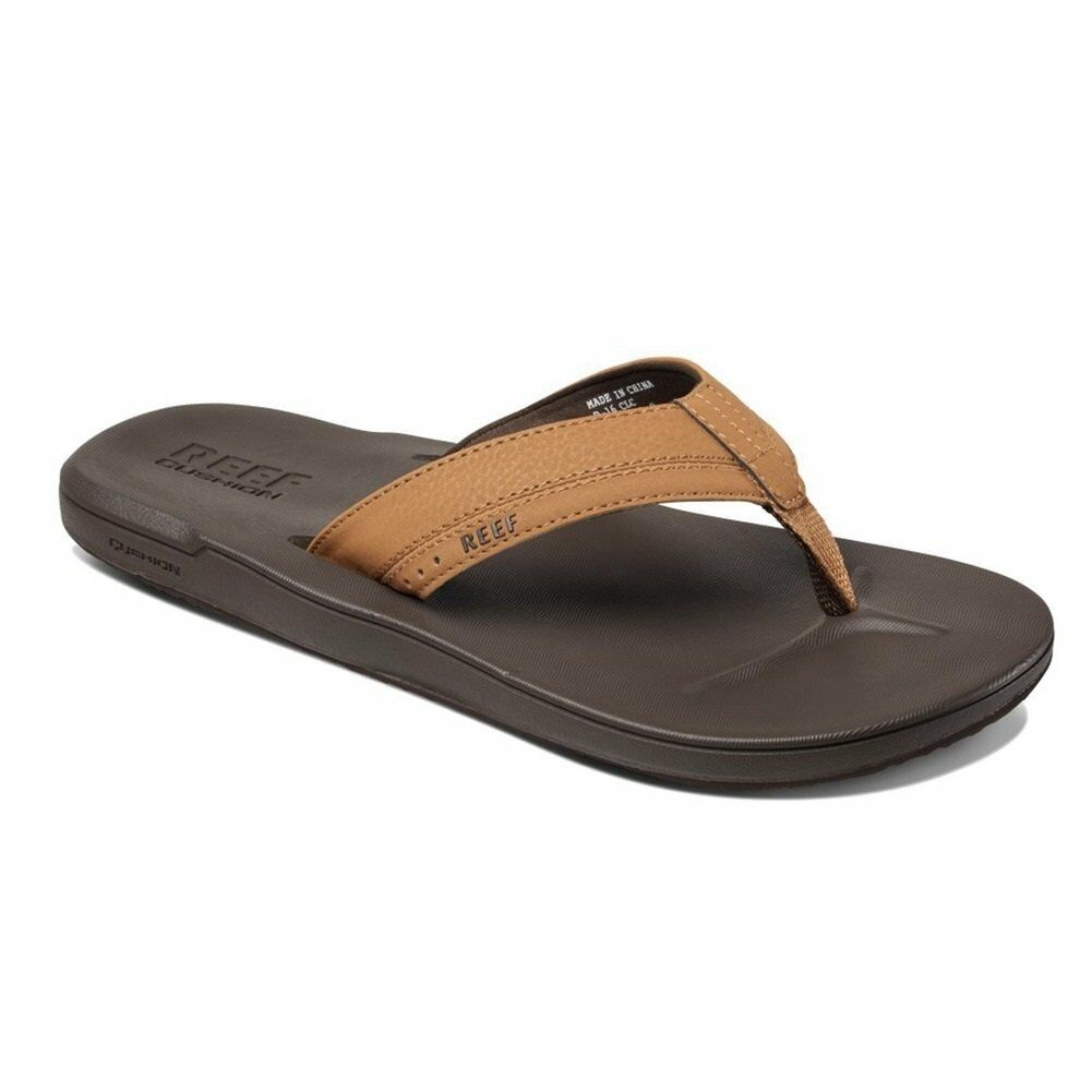 Reef Contoured Cushion  Flip Flops Brown Men