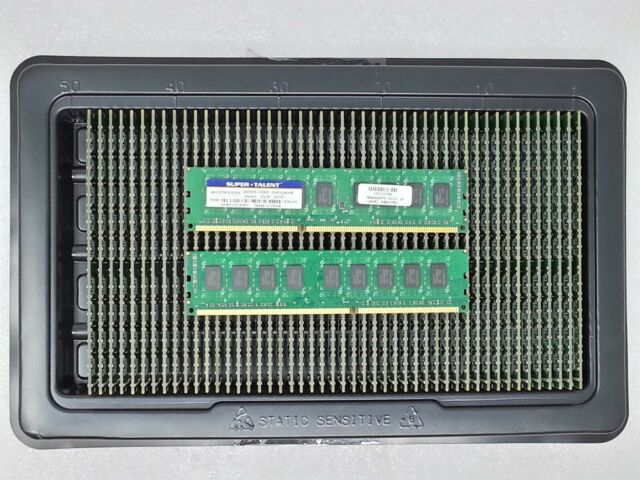 Super Talent 4GB PC3-10600 DDR3-1333MHz non-ECC Unbuffered CL9 240-Pin DIMM D-RK