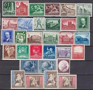 3rd-Reich-1939-1942-31-superb-MNH-stamps-All-sets-complete
