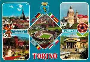 Cartolina Torino - Campionato Di Calcio Europa 80