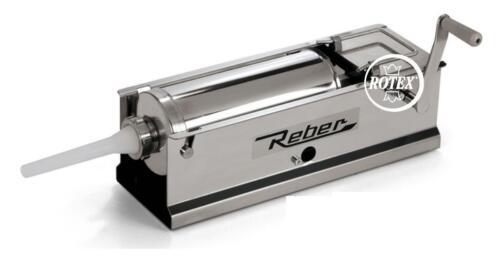 Rotex Insaccatrice Reber 8960 N inox 5 kg professionale doppia 2 velocità