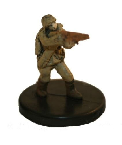 Axis /& Allies miniatures 1x x1 Soviet Conscript Early War 1939-1941 NM with card