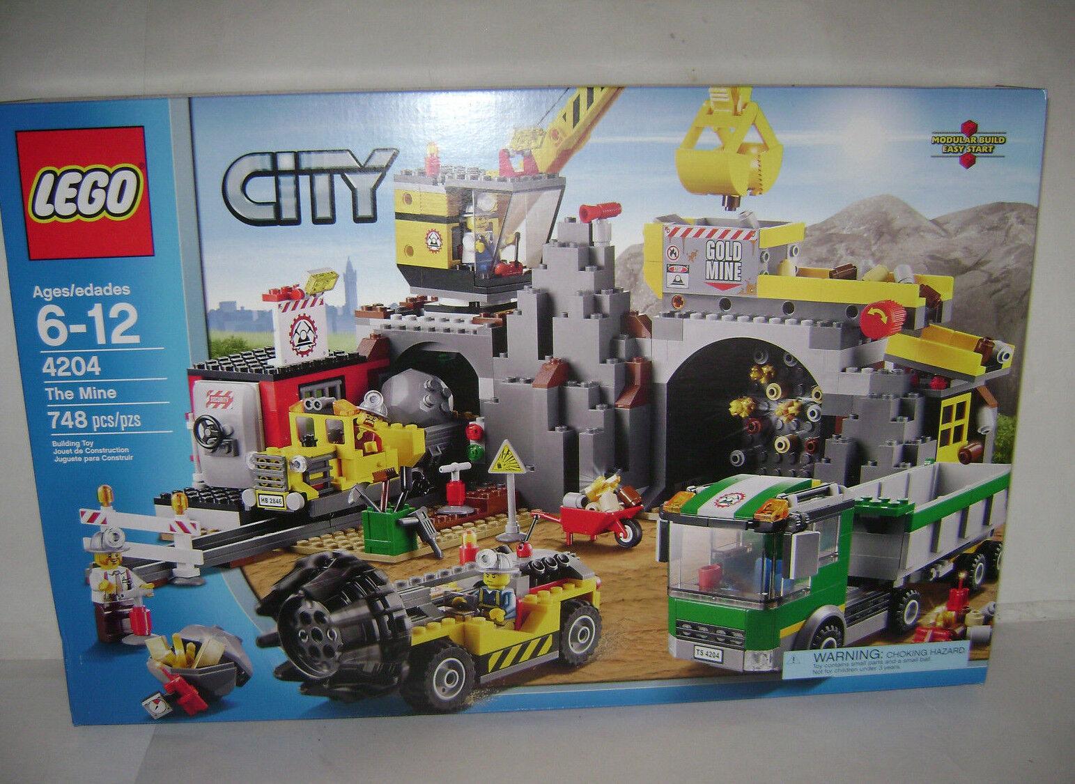 Nouveau 4204 LEGO City La Mine Building Toy Boîte Scellée RETRAITÉ RARE un