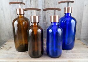 Apothecary-Style-Copper-Soap-Pump-Choose-Size-And-Color-Bath-Or-Kitchen