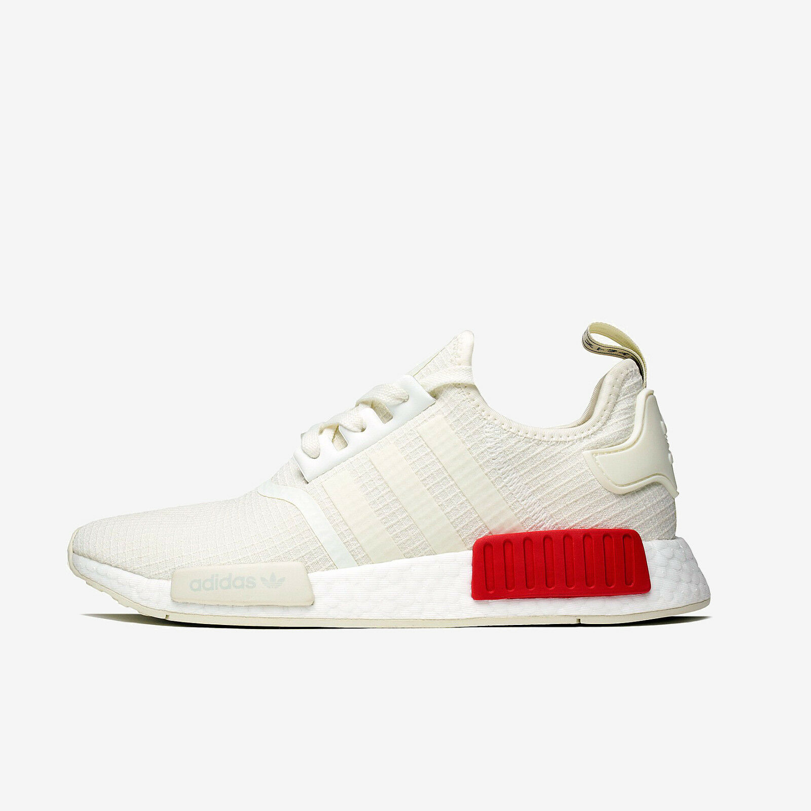 ADIDAS NMD R1 B37619 OFF-WHITE WHITE LUSH RED