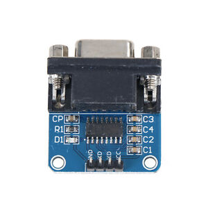 MAX3232-RS232-Serial-Port-To-TTL-Converter-Module-Female-DB9-COM-Serial-MAX232JF
