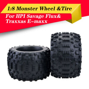 4PCS-170mm-Wheel-Rim-amp-Tires-for-1-8-Monster-Truck-Traxxas-HSP-HPI-Racing-RC-Car