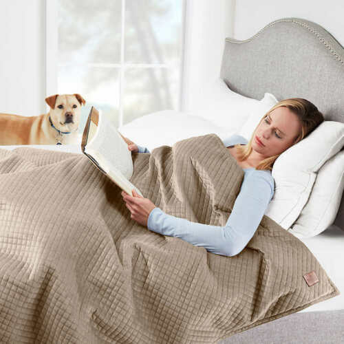 """Pendleton Weighted Blanket 48/"""" x 72/"""" for Individual Use with Removable Cover"""