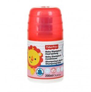 Fisher Price Baby Shampoo 200 ml Pumpflasche sanfte Pflege Parfümfrei