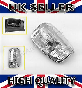 Ford Transit Mk8 Door Wing Mirror Indicator Lens Clear Right OSF OEM Quality