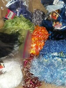 Mixed Lot of Fun Fur Yarn 13 Different Colors Lions Brand ...