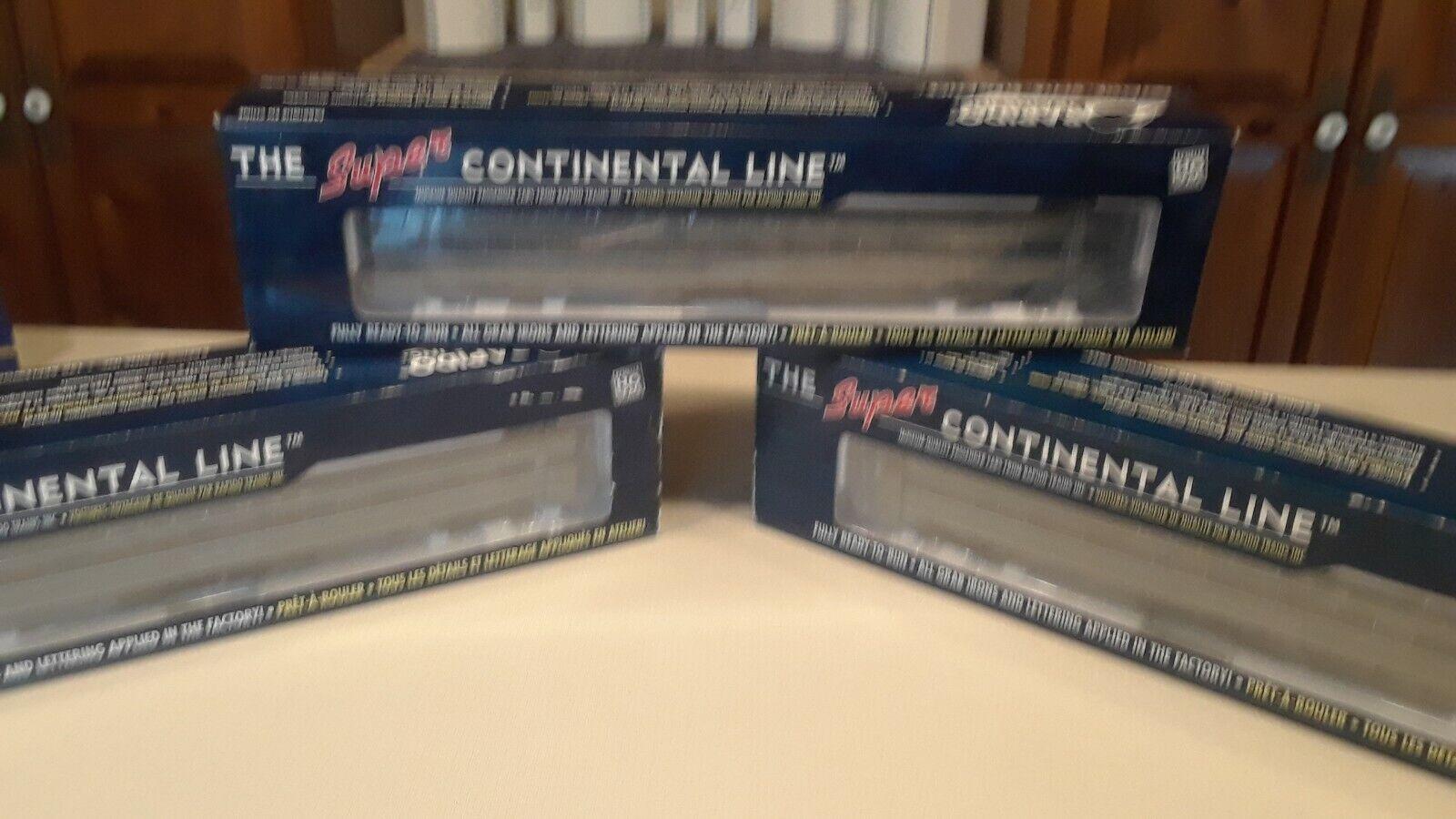 100% autentico Rapido súper súper súper línea continental, C-9, Pullman Cascada  Drive ,  Music , y Bould  nuevo sádico