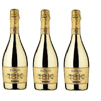Sensi Gold Brut 18K Prosecco Case of 3