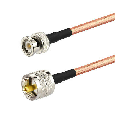 RG400 LOW LOSS COAX RF CABLE PL259 UHF MALE TO N TYPE MALE//FEMALE STRAIGHT USA