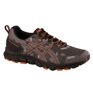 Men-039-s-Asics-GEL-SCRAM-4-1011A045-020-Carbon-Lava-Trail-Running-Shoes