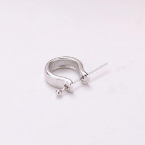 Argent Sterling 925 Connecteur Pour Pendentif À faire soi-même Jewelry Findings A2051