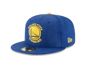 new product e1ae2 55d8c Image is loading Golden-State-Warriors-New-Era-Heather-Hype-Blue-