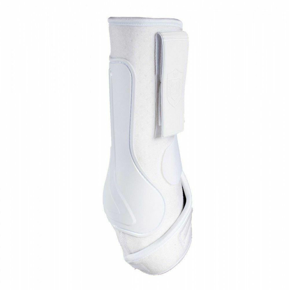 Horze Crescendo Aspen Work Brushing Boots with Neoprene Lining, Front