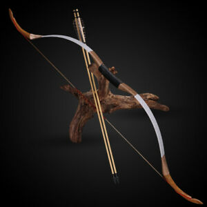 Tir à l'arc mongol Horsebow traditionnel Recourbé Arc pour adultes hunting shooting