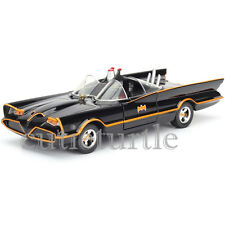 Jada Metals Classic TV Series 1966 Batman Batmobile 1:24 Diecast Car 98262 Black