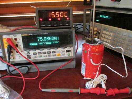 Cole Parmer 98768-43 Control Company 8881 50k Ohm NTC Thermister 4048 94460-70