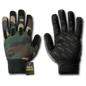 Woodland-Forest-Camouflage-Tactical-Driving-Off-Road-Motorcycle-Bike-Gloves