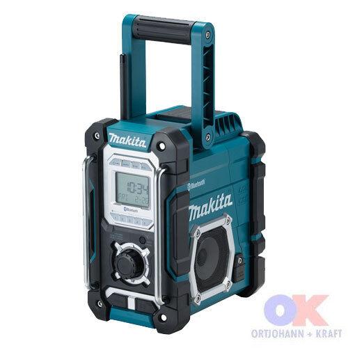 Makita Akku Blautooth Baustellenradio Radio DMR108 Nachf. Nachf. Nachf. vom DMR106 NEU DMR 108 9098b2
