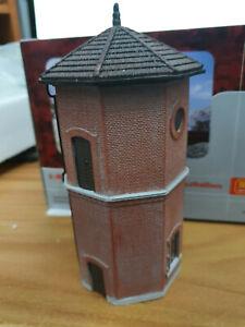 Water-Tower-Serbatoio-Sovraelevato-Scala-HO-1-87-Montato-Rivarossi-HR6394