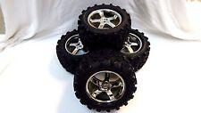 Traxxas 4907 3.3 T-Maxx Tires & 14mm 3.8 Wheels //Fit E-maxx 3906