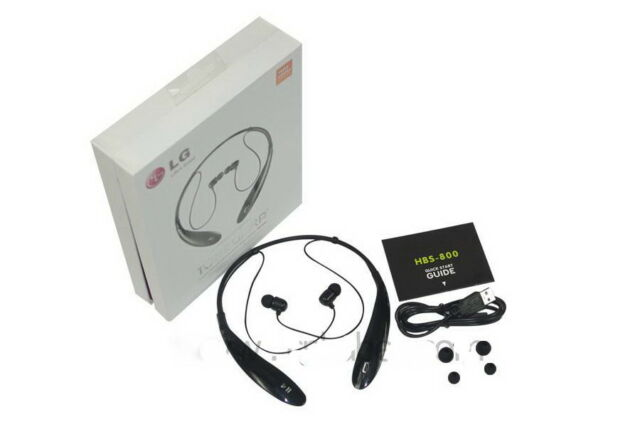 a85ef163621 LG HBS-800 Tone Ultra Premium Bluetooth Stereo Headset JBL Signature Sound  Black