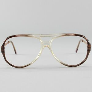 Translucent Brown Eyeglass Frames 70s 80s Essilor Eyeglasses Sharp Square Eyeglasses New Old Stock Retro Glasses Frames Sunglasses