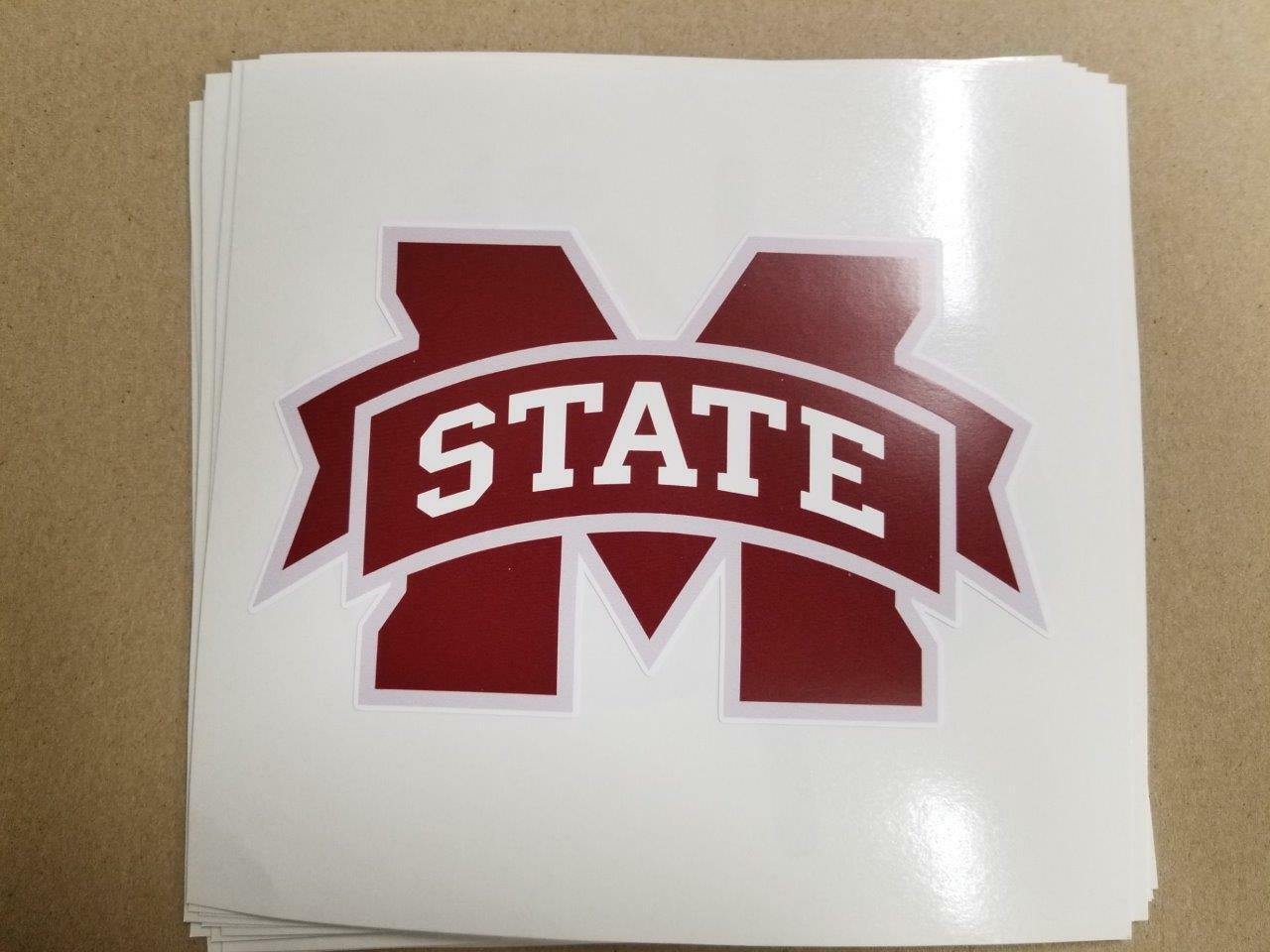 Mississippi State Bulldogs cornhole board or vehicle decal(s) NCAA MS910
